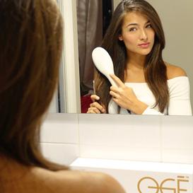 Oge Exclusive influencer premium haar producten Nochtli Peralta Alvarez