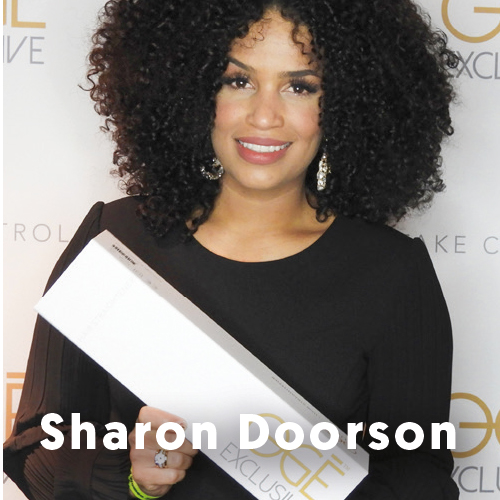Sharon Doorson Ogé Exclusive